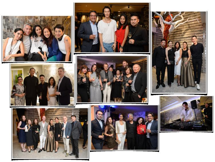 Guests at the grand opening of the Bangkok showroom