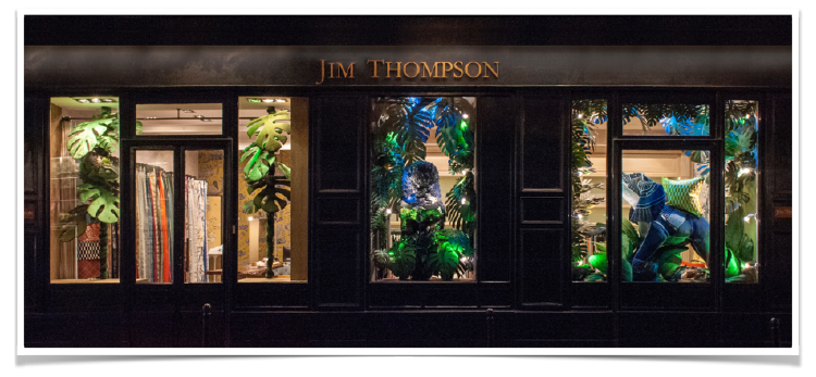 Paris Deco Off 2017 Jim Thompson Window Display by Douglas Little